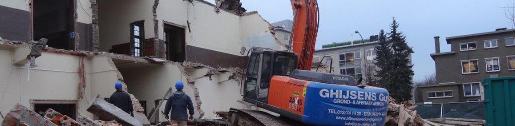 Travaux de démolition Guy Ghijsens sa